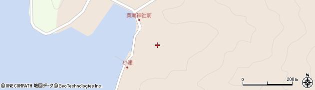大分県佐伯市米水津大字小浦434周辺の地図