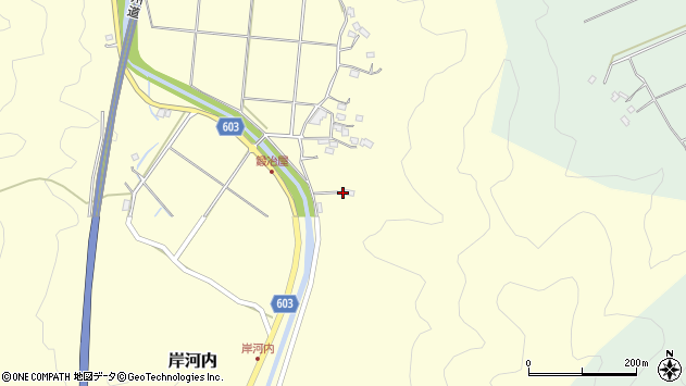 大分県佐伯市長谷2431周辺の地図