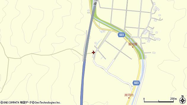 大分県佐伯市長谷3837周辺の地図