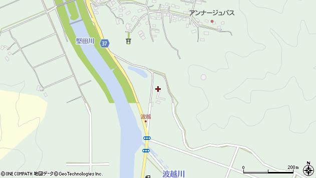 大分県佐伯市堅田大正区周辺の地図