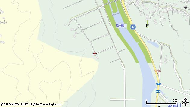 大分県佐伯市堅田6896周辺の地図