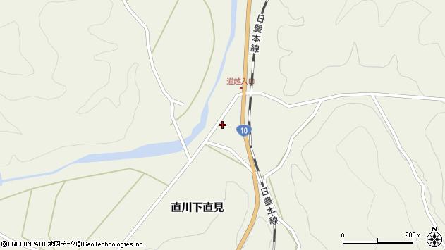大分県佐伯市直川大字下直見4355周辺の地図