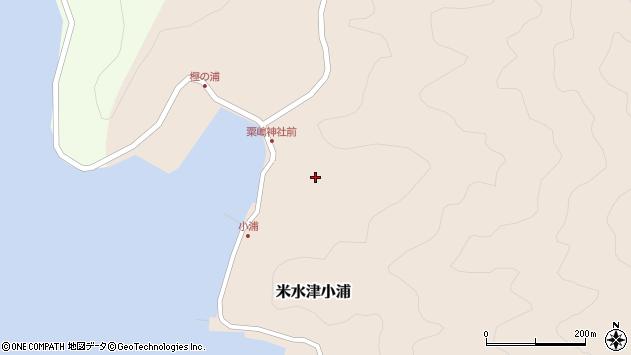 大分県佐伯市米水津大字小浦432周辺の地図