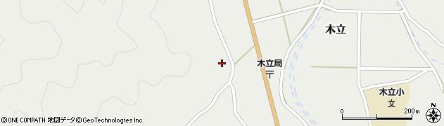 大分県佐伯市木立1042周辺の地図