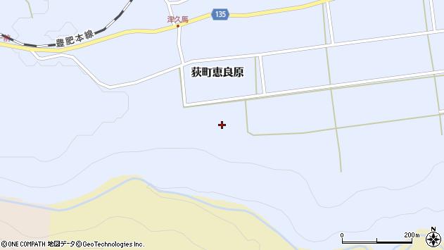 大分県竹田市荻町恵良原1850周辺の地図