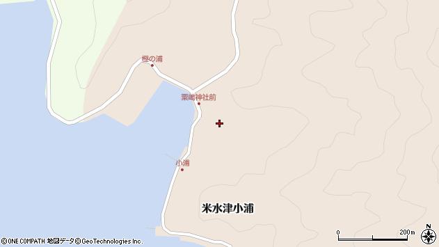 大分県佐伯市米水津大字小浦428周辺の地図