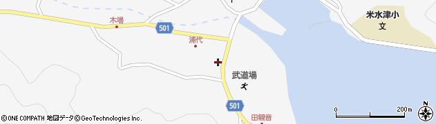大分県佐伯市米水津大字浦代浦1241周辺の地図