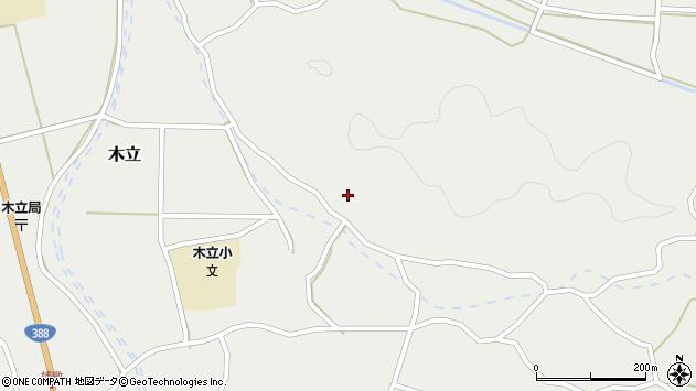 大分県佐伯市木立4365周辺の地図