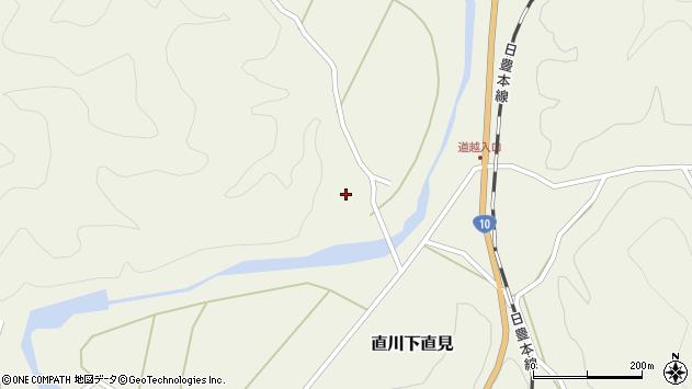 大分県佐伯市直川大字下直見926周辺の地図
