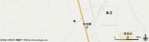大分県佐伯市木立985周辺の地図