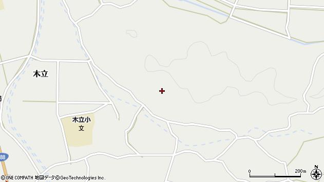 大分県佐伯市木立4360周辺の地図