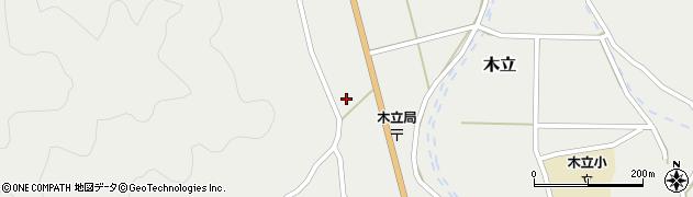 大分県佐伯市木立983周辺の地図