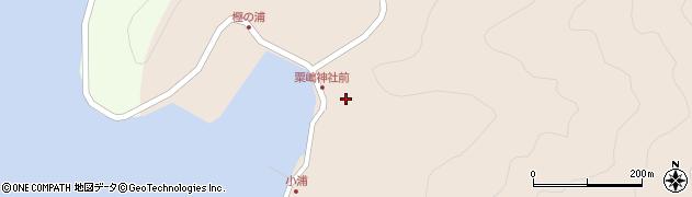 大分県佐伯市米水津大字小浦421周辺の地図