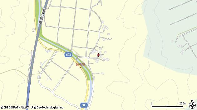 大分県佐伯市長谷2484周辺の地図