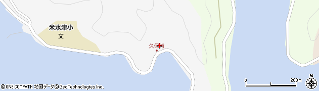 大分県佐伯市米水津大字浦代浦81周辺の地図