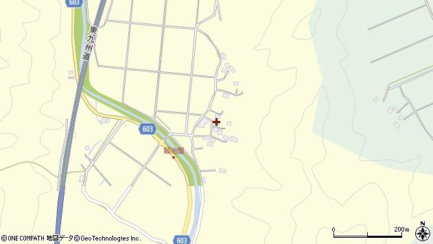 大分県佐伯市長谷2485周辺の地図