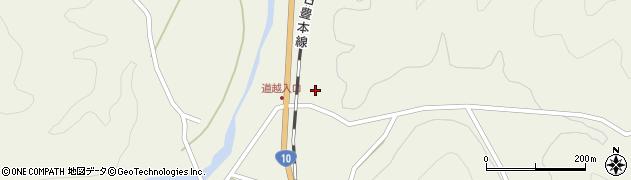 大分県佐伯市直川大字下直見3450周辺の地図