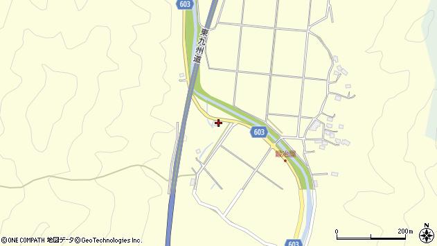 大分県佐伯市長谷3551周辺の地図