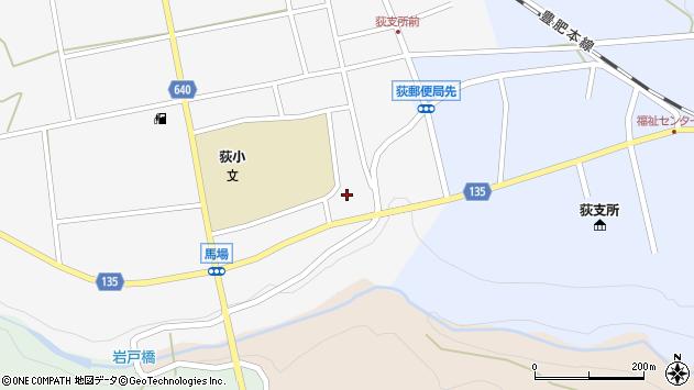 大分県竹田市荻町馬場452周辺の地図