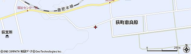 大分県竹田市荻町恵良原1765周辺の地図