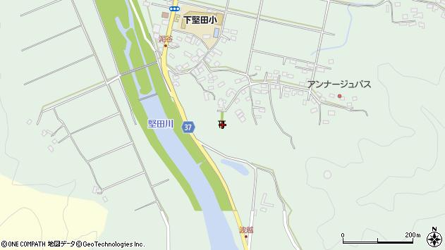 大分県佐伯市堅田5401周辺の地図