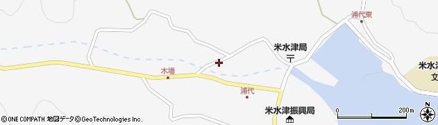 大分県佐伯市米水津大字浦代浦764周辺の地図
