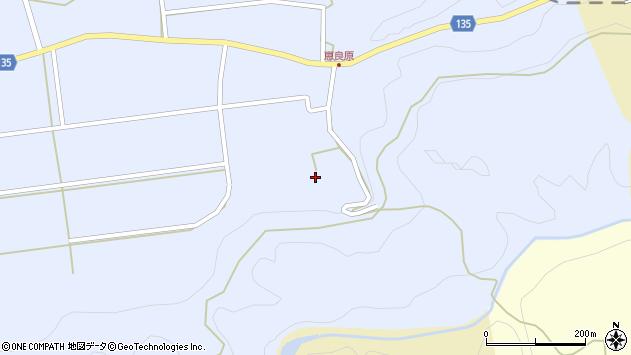大分県竹田市荻町恵良原2235周辺の地図