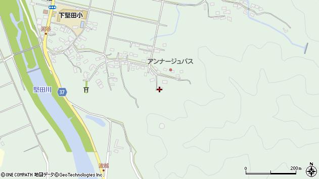 大分県佐伯市堅田5784周辺の地図