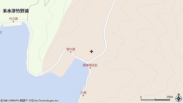 大分県佐伯市米水津大字小浦90周辺の地図