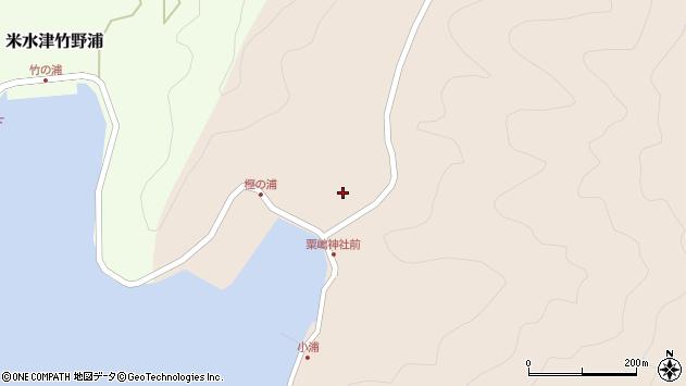 大分県佐伯市米水津大字小浦88周辺の地図