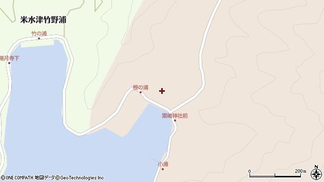 大分県佐伯市米水津大字小浦52周辺の地図