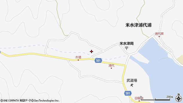 大分県佐伯市米水津大字浦代浦853周辺の地図