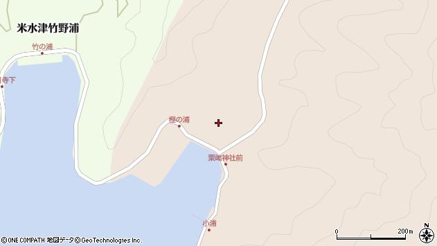 大分県佐伯市米水津大字小浦103周辺の地図