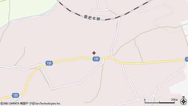 大分県竹田市荻町桑木1186周辺の地図