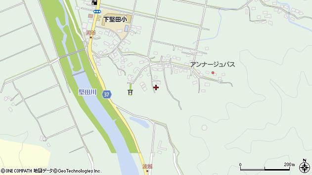 大分県佐伯市堅田5416周辺の地図