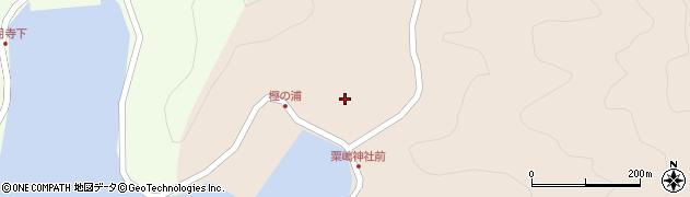 大分県佐伯市米水津大字小浦105周辺の地図
