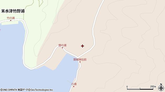 大分県佐伯市米水津大字小浦86周辺の地図