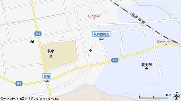 大分県竹田市荻町馬場440周辺の地図