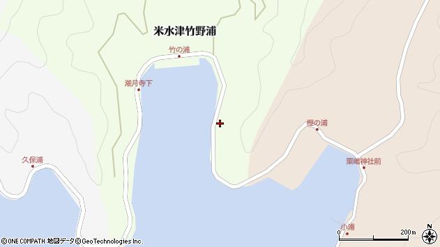 大分県佐伯市米水津大字竹野浦720周辺の地図