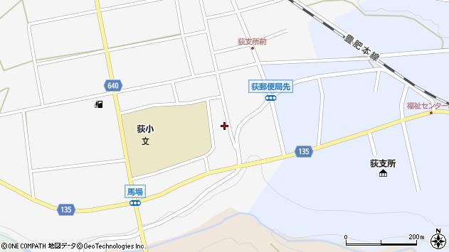 大分県竹田市荻町馬場454周辺の地図