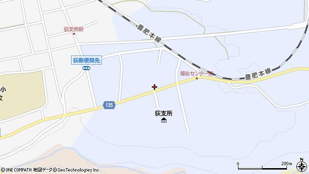 大分県竹田市荻町恵良原776周辺の地図
