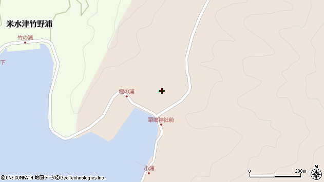 大分県佐伯市米水津大字小浦85周辺の地図