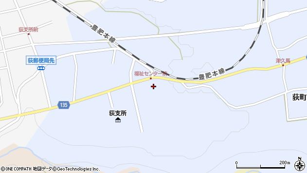 大分県竹田市荻町恵良原772周辺の地図