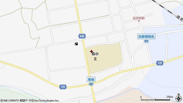 大分県竹田市荻町馬場448周辺の地図