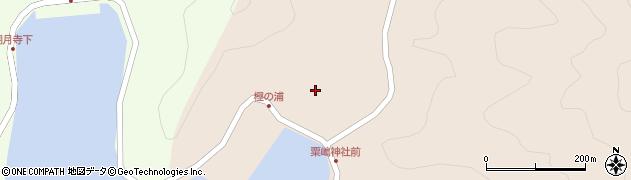 大分県佐伯市米水津大字小浦99周辺の地図