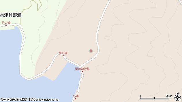 大分県佐伯市米水津大字小浦70周辺の地図