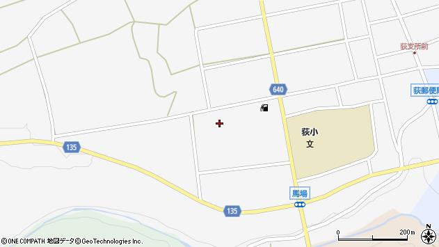 大分県竹田市荻町馬場577周辺の地図