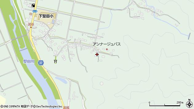 大分県佐伯市堅田5774周辺の地図