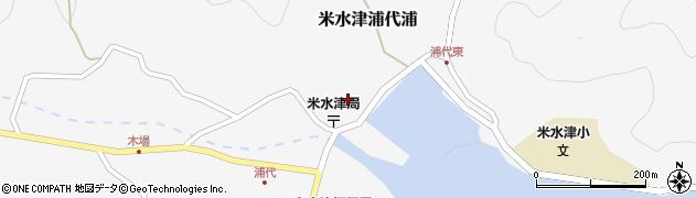 大分県佐伯市米水津大字浦代浦694周辺の地図