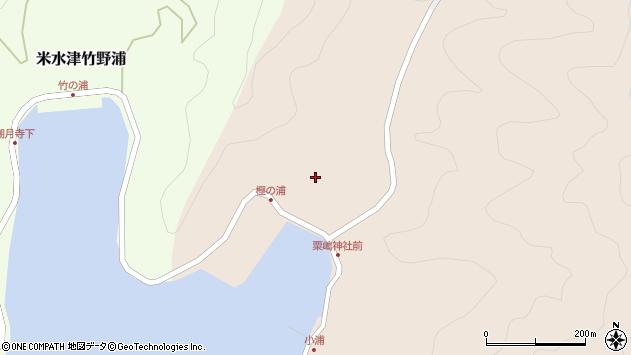 大分県佐伯市米水津大字小浦115周辺の地図